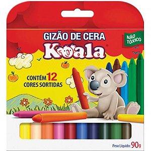 Lapis Gizao De Cera C/12  Koala
