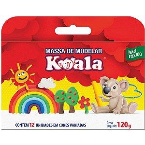 Massa Modelar C/12 Cores Koala