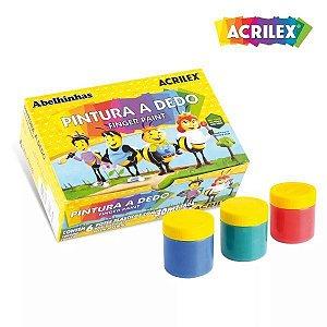 PINTURA A DEDO 6X15ML ACRILEX