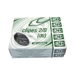 CLIPES GALVANIZADOS 2/0 00 100UND ACC