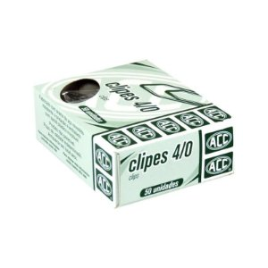 CLIPES GALVANIZADOS 4/0 50UND ACC