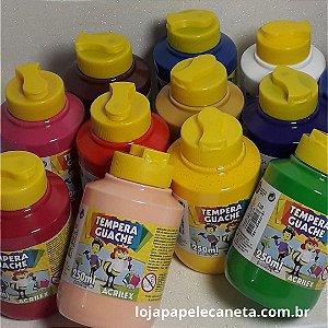 Tinta Tempera Guache 250Ml Acrilex