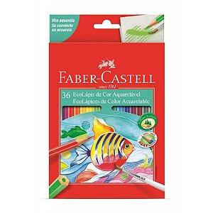 Lapis Cor Aquarelavel 36 Cores Faber Castell