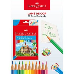 Lapis Cor 36 Cores 120136 Faber Castell