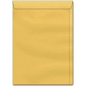 Envelope Saco Ouro 22Cmx32Cm