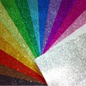 E.V.A. C/ Glitter 40X48Cm