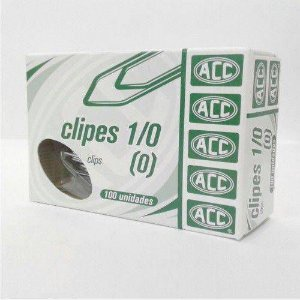 CLIPES 1/0 ACO GALVANIZADO C/100 ACC