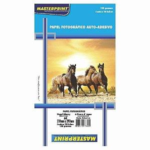 Papel Fotográfico Autoadesivo 130G A4 Masterprint