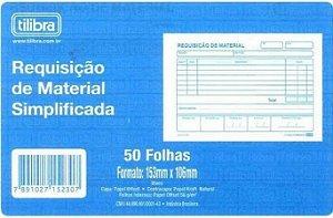 Requisição De Material Simplificada 50F Tilibra