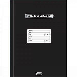 Livro Movimento de Combustíveis 100F Tilibra