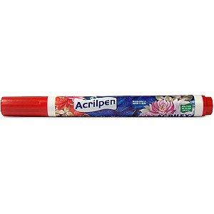Acrilpen Acrilex 507 Vermelho