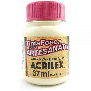 TINTA PVA FOSCA 37ML MARFIM (529) ACRILEX