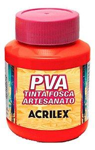 TINTA PVA FOSCA  500ML VERMELHO VIVO (541) ACRILEX