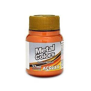 TINTA METAL COLORS 37ML COBRE (534) ACRILEX