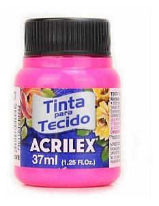 TINTA TECIDO FLUOR 37ML MARAVILHA (107) ACRILEX