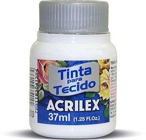 TINTA TECIDO FOSCA 37ML BRANCO (519) ACRILEX
