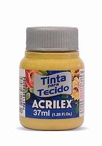 TINTA TECIDO FOSCA 37ML OCRE OURO(573) ACRILEX