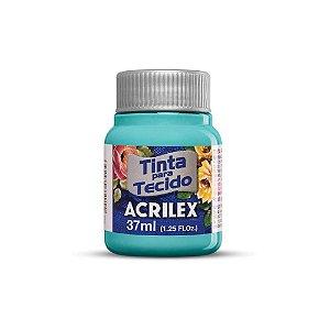 TINTA TECIDO FOSCA 37ML TURQUESA (577) ACRILEX