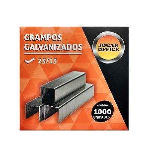Grampo Galvanizado 23/13 1000P Jocar