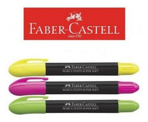 MARCA TEXTO SUPER SOFT FABER CASTELL