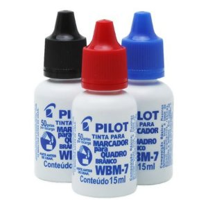 TINTA P/MARCADOR QUAD BCO WBM-7 15ML PILOT