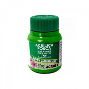 TINTA ACRÍLICA FOSCA 37ML VERDE FOLHA (510) ACRILEX