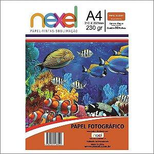 Papel Fotográfico Glossy 230G A4 Nexel
