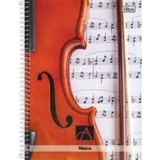 Caderno De Música Espiral Grande 96F Tilibra