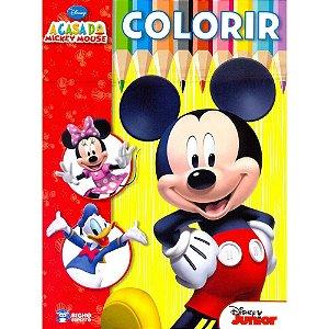 Livro Colorir Disney - A Casa Do Mickey Mouse Rideel