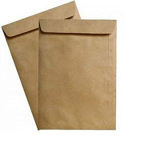 Envelope Saco Natural 24X34Cm Cx C/100 Unidades