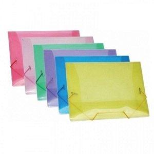 Pasta Transparente C/Elast 1Mm Polibras