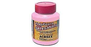 TINTA PVA FOSCA 100ML ROSA (537) ACRILEX