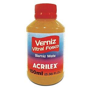 Verniz Vitral 100Ml Fosco Incolor (806) Acrilex