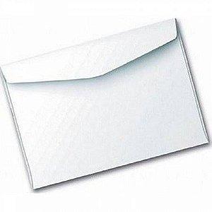 Envelope Carta Branco 114Mmx162Mm