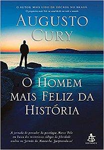 Livro O Homem Mais Feliz Da Historia
