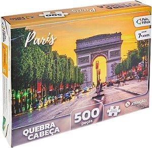 Quebra Cabeça Paris 500P Pais&Filhos