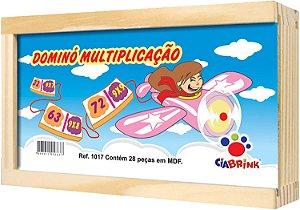 Domino Brincando Com As Operações Multiplicação Ciabrink