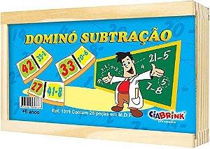 Domino Brincando Com As Operações Subtração Ciabrink