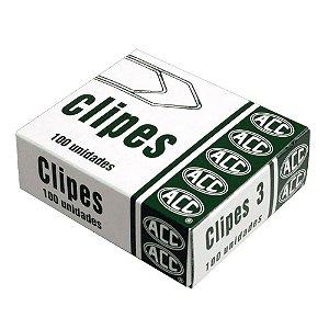 Clipes Aco Galvanizado N°3 Cx/100 Acc