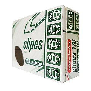 CLIPES 1/0 ACO NIQUELADO C/100 ACC