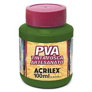 TINTA PVA FOSCA 100ML VERDE OLIVA (545) ACRILEX