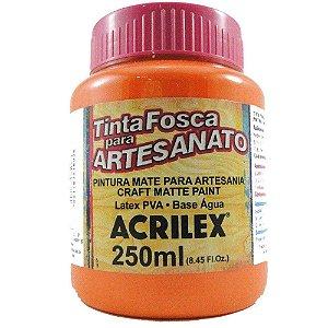 TINTA PVA FOSCA  250ML LARANJA (517) ACRILEX