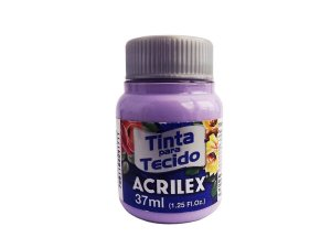 TINTA TECIDO FOSCA 37ML LILÁS (528) ACRILEX