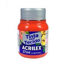 TINTA TECIDO FOSCA 37ML GOIABA QUEIMADA (805) ACRILEX