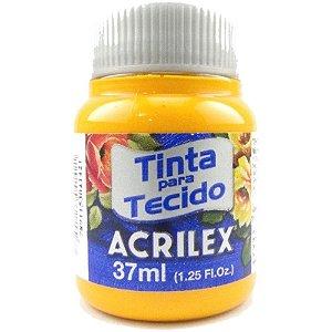 TINTA TECIDO FOSCA 37ML AMARELO CADMIO (536) ACRILEX