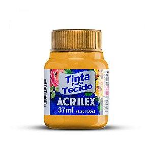 Tinta Tecido Metálica 37Ml Amarelo (553) Acrilex
