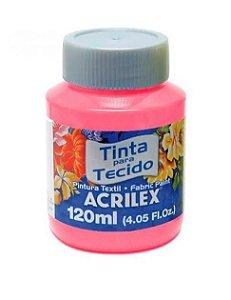 TINTA TECIDO FOSCA 120ML PINK (527) ACRILEX