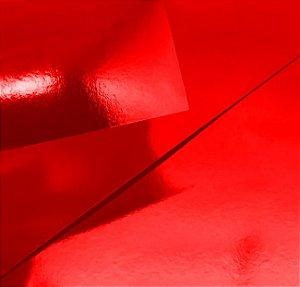 Papel Lamicote Vermelho Pct C/9F 255G A4