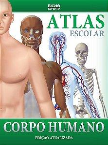 Livro Atlas Escolar Corpo Humano Ed. Atualzada Rideel