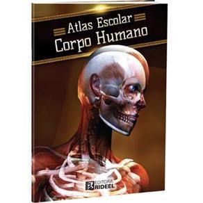 Livro Atlas Escolar Corpo Humano Rideel